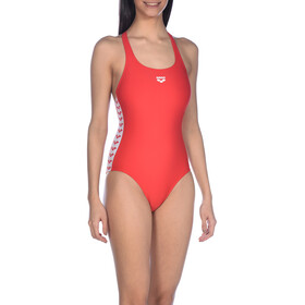 arena Team Fit Racer Back One Piece Swimsuit Women red